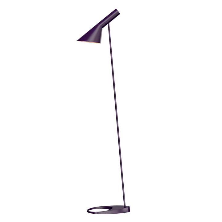 AJ Floor lamp from Louis Poulsen in aubergine