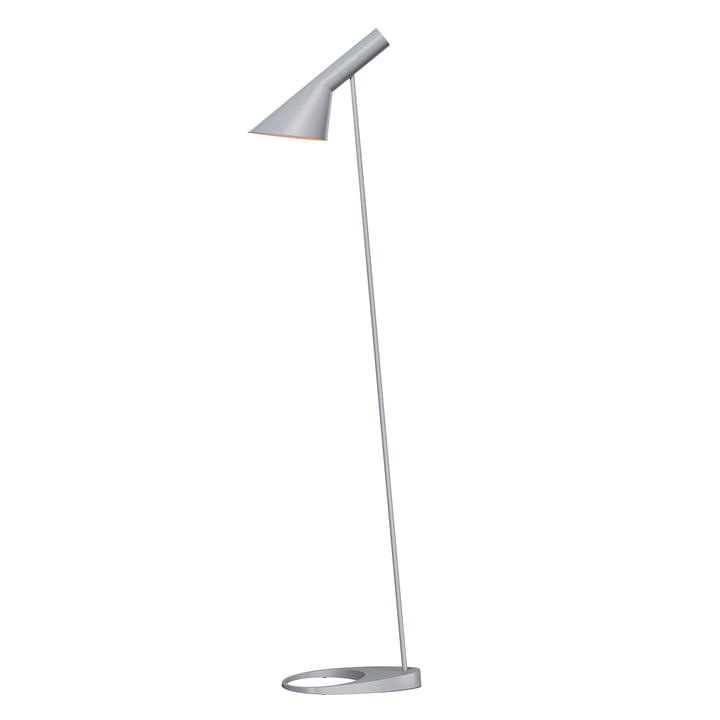 AJ floor lamp from Louis Poulsen in light grey