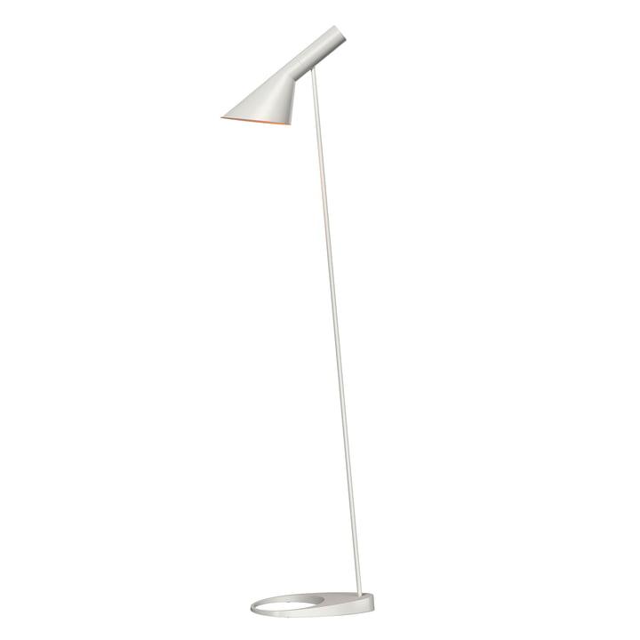 Louis Poulsen AJ floor lamp in white