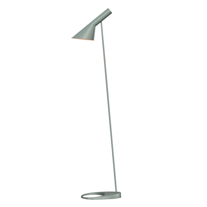 AJ Floor lamp of Louis Poulsen in petroleum pale
