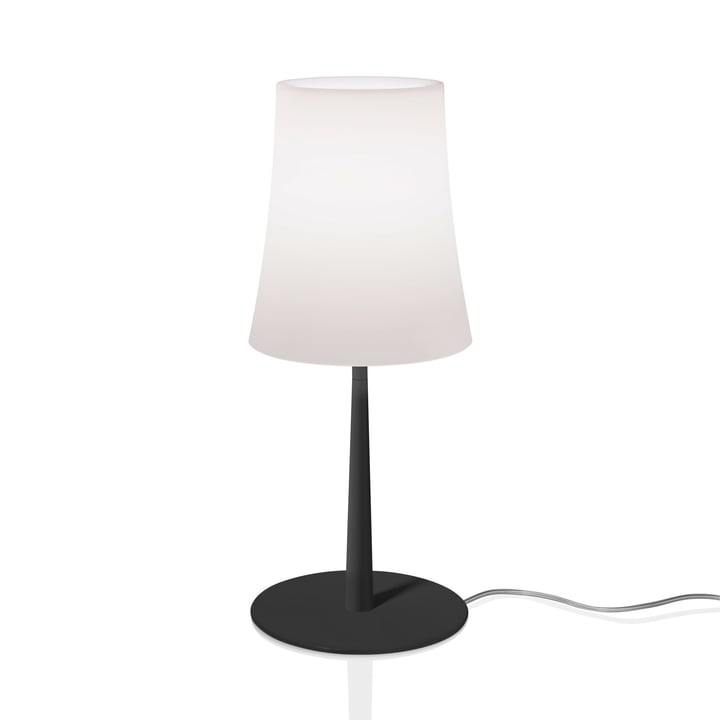 The Birdie Easy table lamp from Foscarini in black