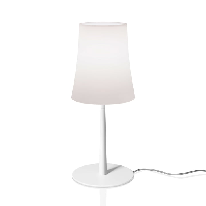 The Birdie Easy table lamp from Foscarini in white