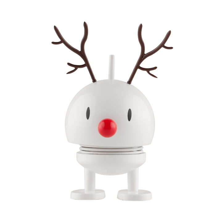 Small Reindeer Bumble white from Hoptimist
