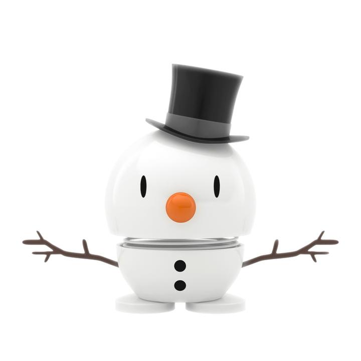 Snowman, small / white from Hoptimist