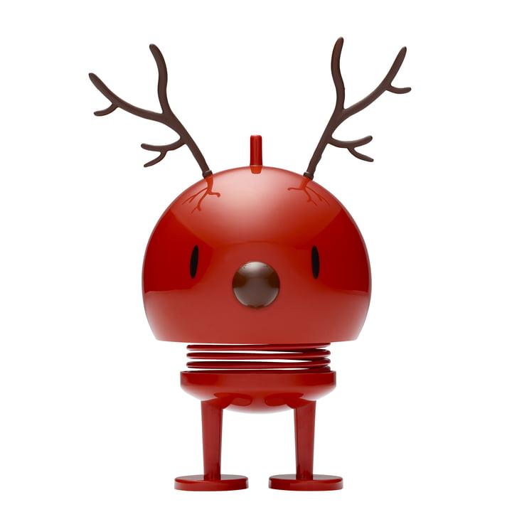 Reindeer Bumble, medium / red by Hoptimist