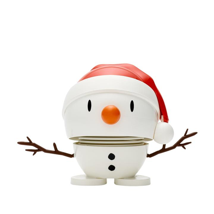 Santa Snowman , small / white from Hoptimist
