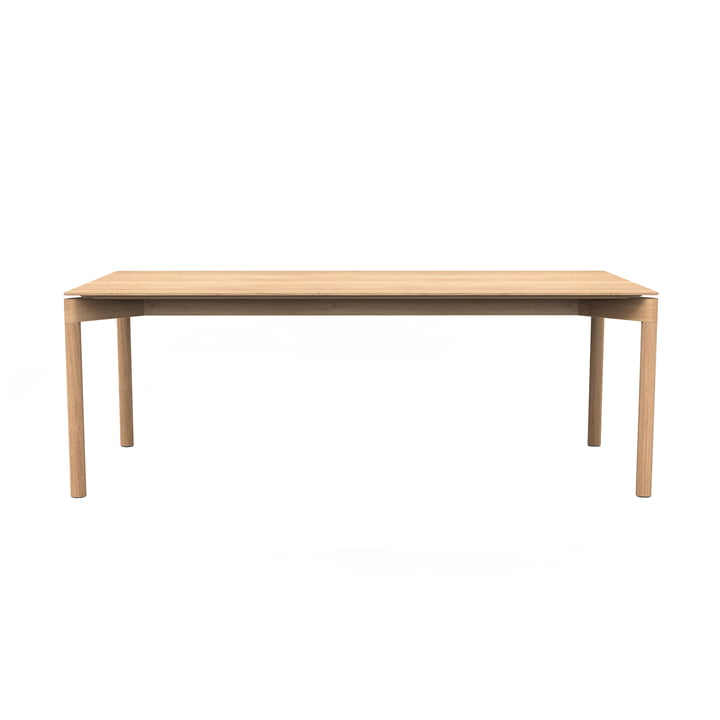 The Wedekind table Large from Objekte unserer Tage waxed in oak