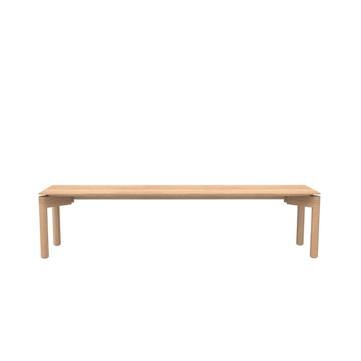The Wedekind bench Large from Objekte unserer Tage waxed in oak