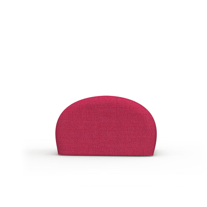 The Levi pouf of Objekte unserer Tage in pink, Kvadrat Atlas
