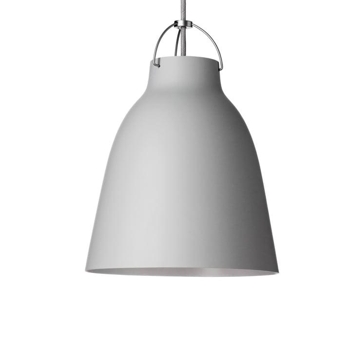 Fritz Hansen - Caravaggio P2 Pendant matt, light grey (25)