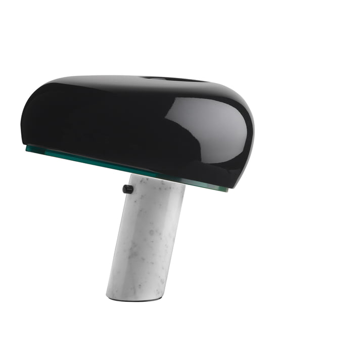Snoopy Table lamp from Flos in black