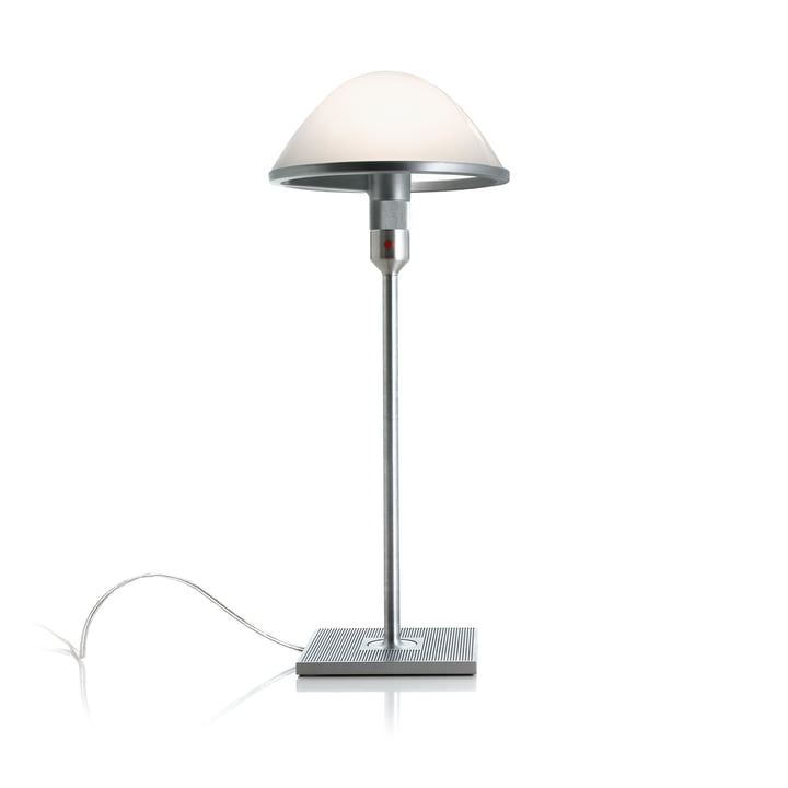 The Mirandolina D60pi. Table lamp from Luceplan in aluminium / opal glass