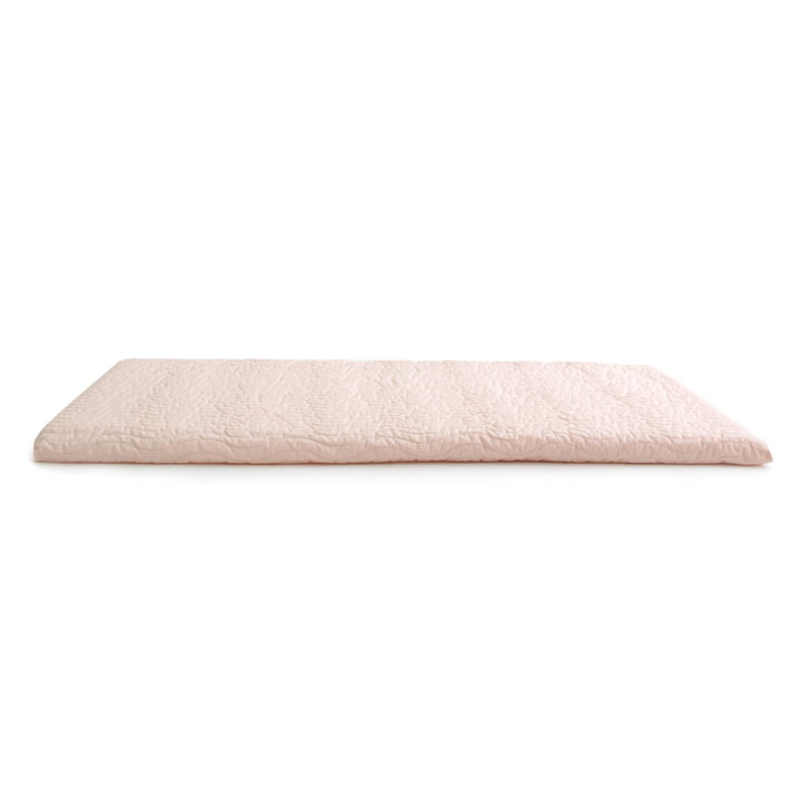 The Monaco play mattress from Nobodinoz in bloom pink
