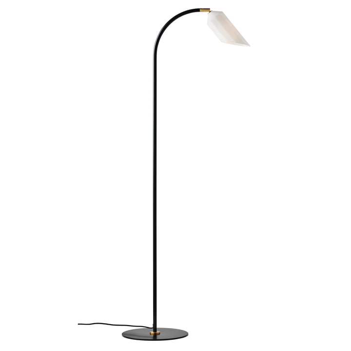 The Pliverré floor lamp from Le Klint in black / white