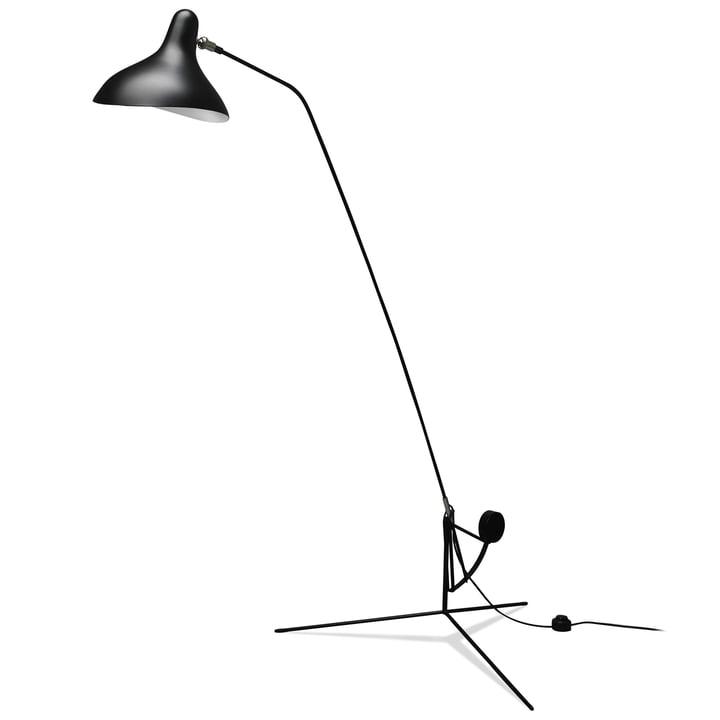 Mantis BS1 floor lamp, black from DCW