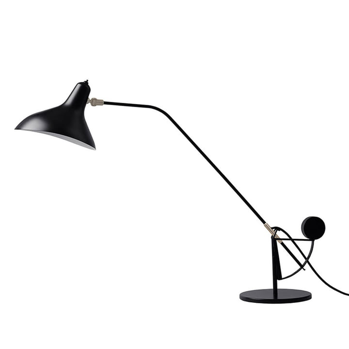 Mantis BS3 table lamp, black from DCW