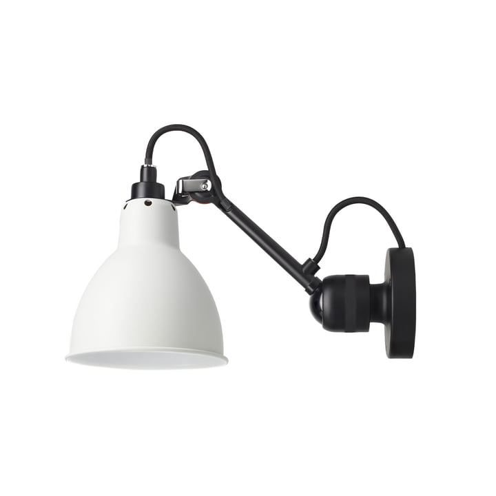 Lamp Gras No 304 wall lamp, black / white from DCW
