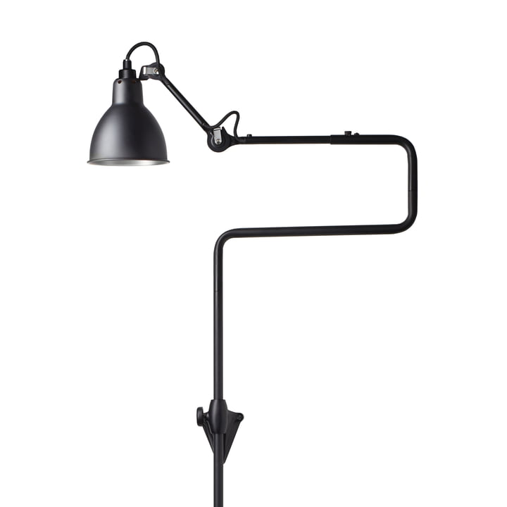 Lamp Gras No 217 wall lamp, black / black by DCW