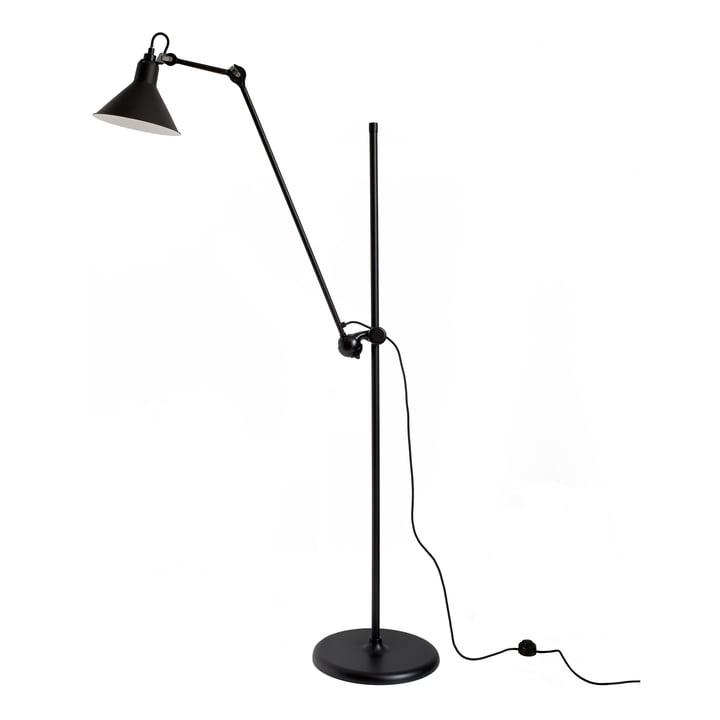 Lamp Gras No 215 floor lamp from DCW in black / black