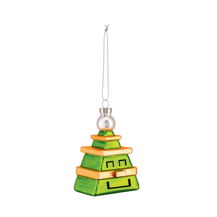 The Cubik Tree Christmas tree decorations from Alessi