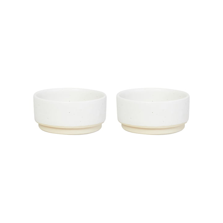 Otto Bowl S, Ø 9.5 cm, white (set of 2) from Frama