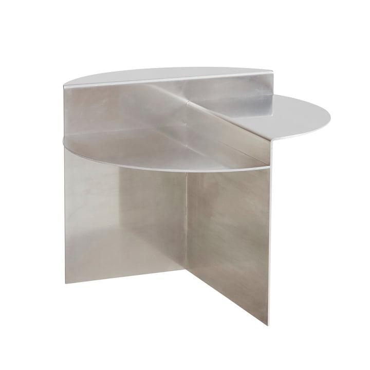 Rivet Side table, aluminium from Frama