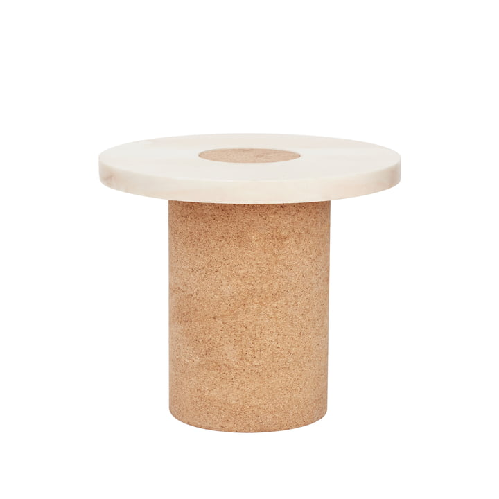 Sintra Side table, Ø 39 x H 33 cm, white from Frama
