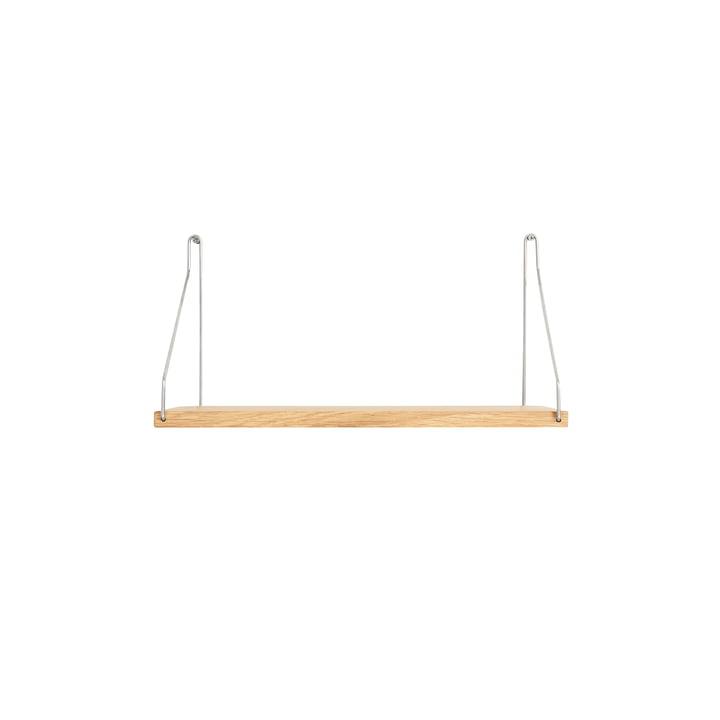 Shelf Shelf 40 x 20 cm, oak / steel from Frama