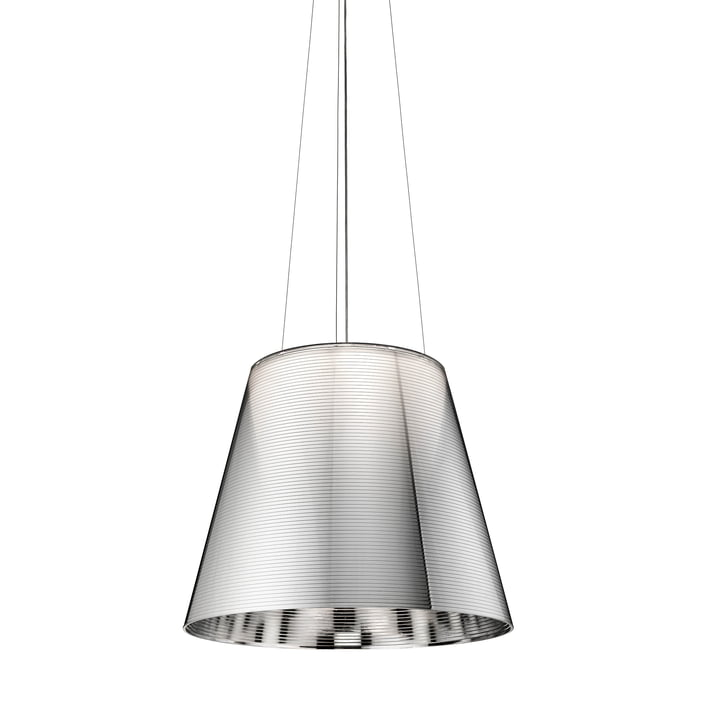 The K Tribe S3 from Flos in aluminised silver