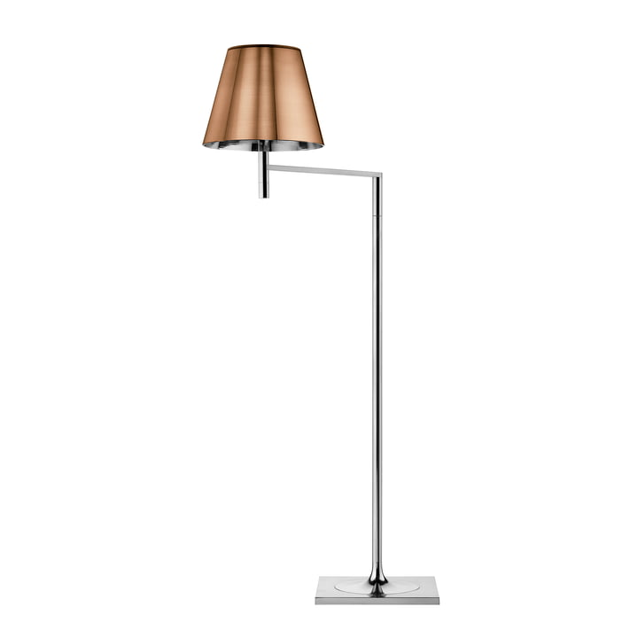 The K Tribe F1 floor lamp from Flos in bronze