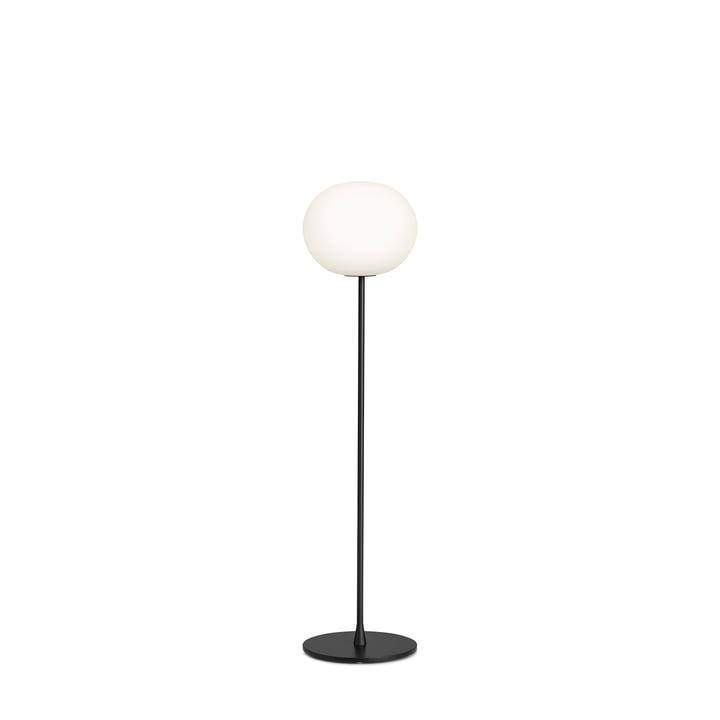 The Glo Ball F 1 floor lamp from Flos in black matt