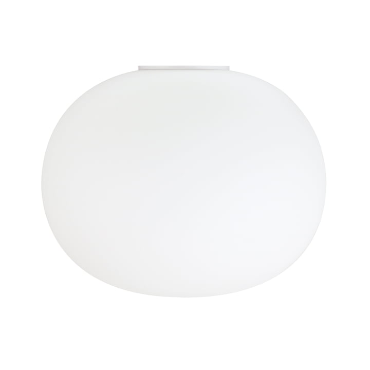 The Glo-Ball wall and ceiling light 2 from Flos in white, Ø 45 cm