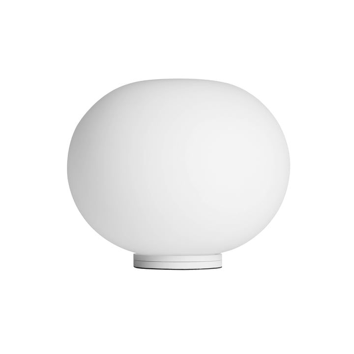 Glo-Ball Basic Zero Switch from Flos in white