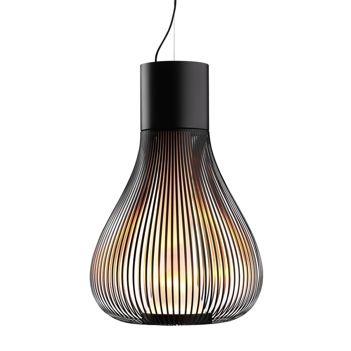The Chasen pendant light from Flos in black