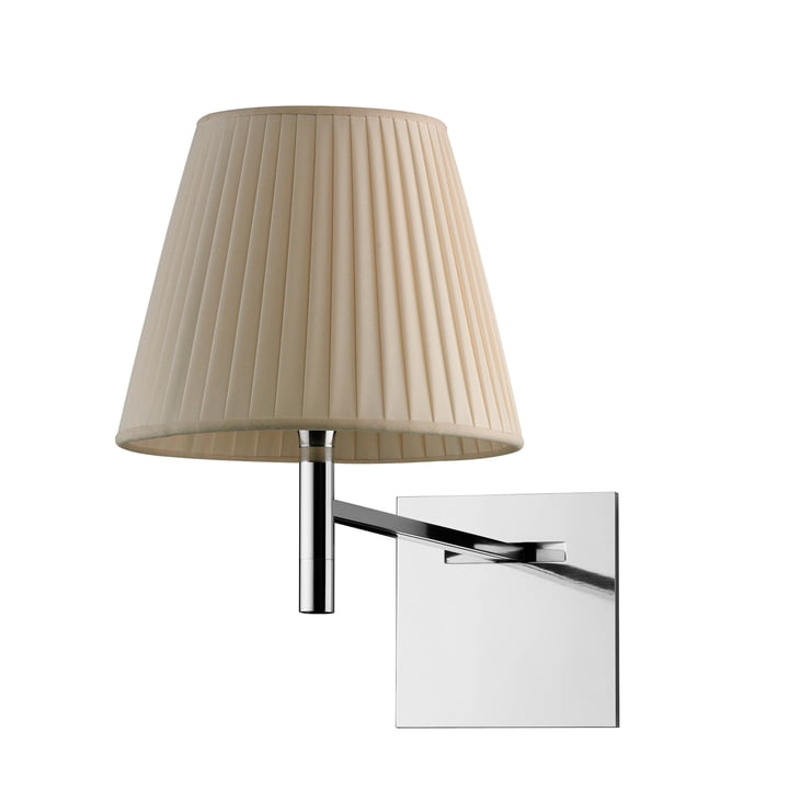 The K Tribe wall lamp from Flos with fabric shade