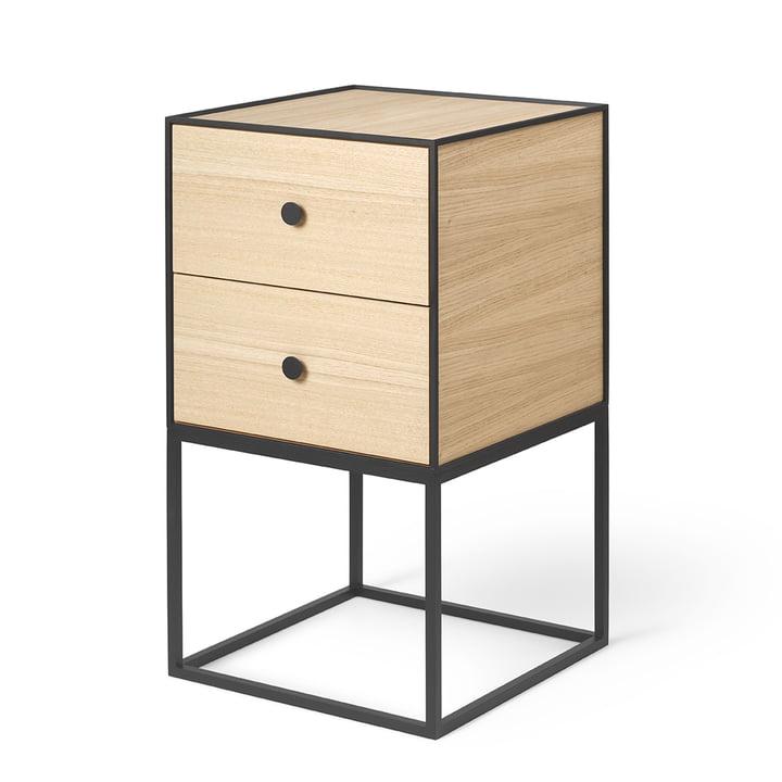 Frame Sideboard 35 (incl. 2 drawers), oak from by Lassen