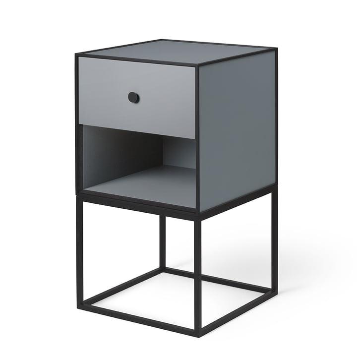 Frame Sideboard 35 (incl. drawer), dark grey from by Lassen