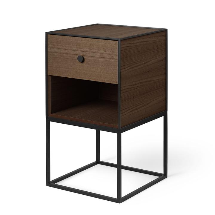 Frame Sideboard 35 (incl. drawer), oak smoked by by Lassen