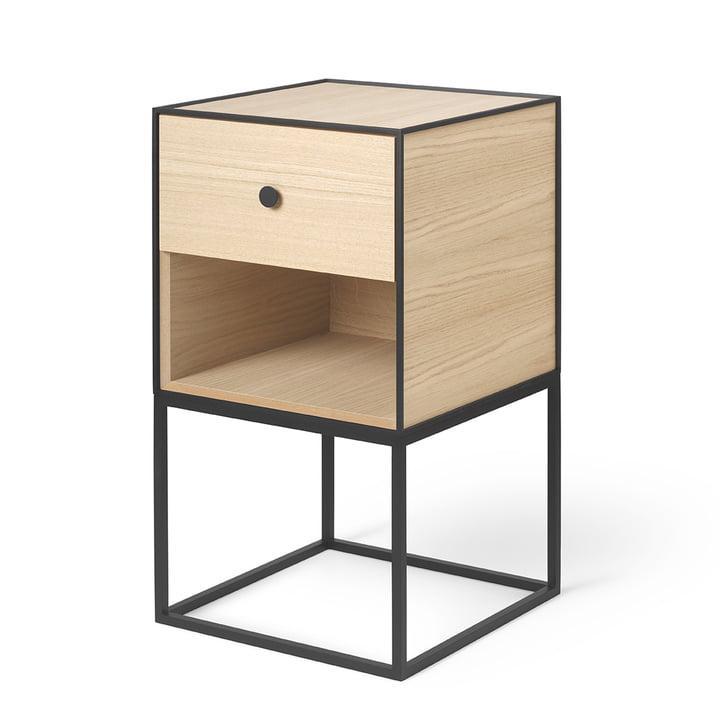Frame Sideboard 35 (incl. drawer), oak from by Lassen