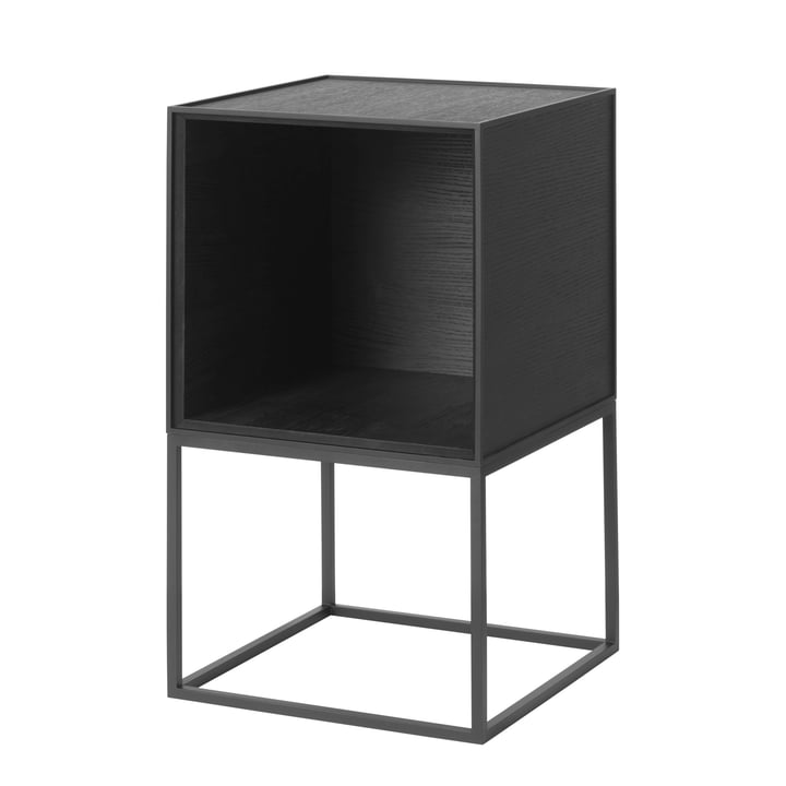 Frame Sideboard 35, ash black stained by by Lassen