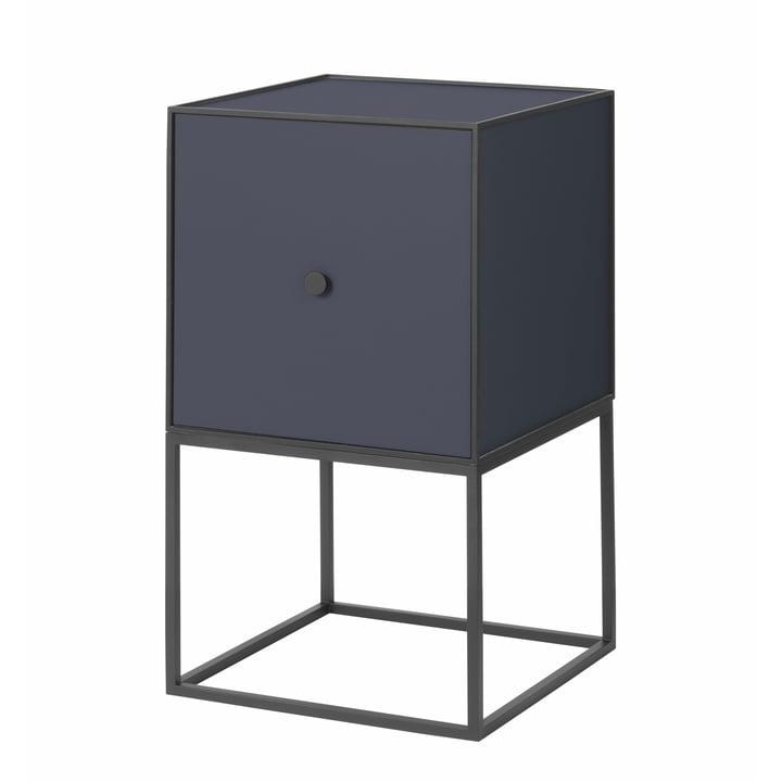 Frame Sideboard 35 (incl. door), dark blue from by Lassen