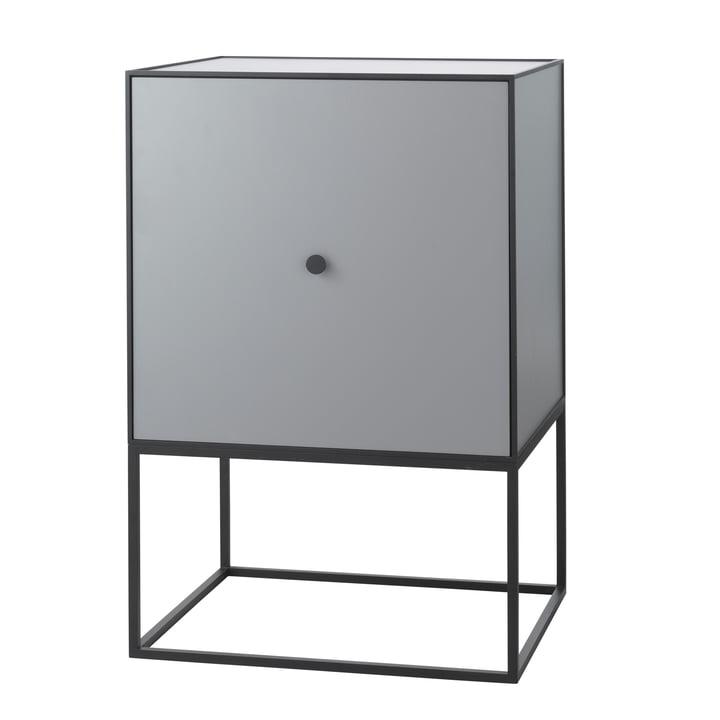 Frame Sideboard 49 (incl. door & shelf), dark grey from by Lassen