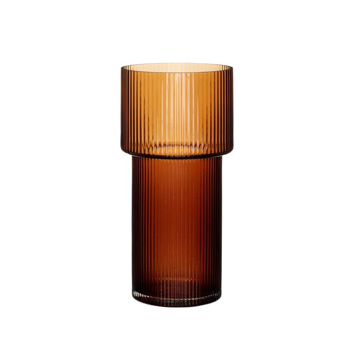 The vase of Hübsch Interior , amber