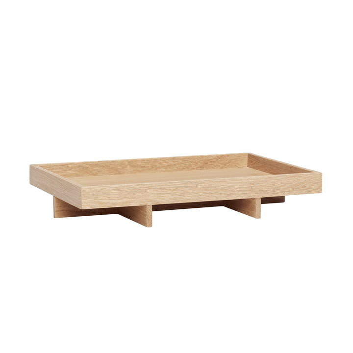 The tray from Hübsch Interior in oak, nature