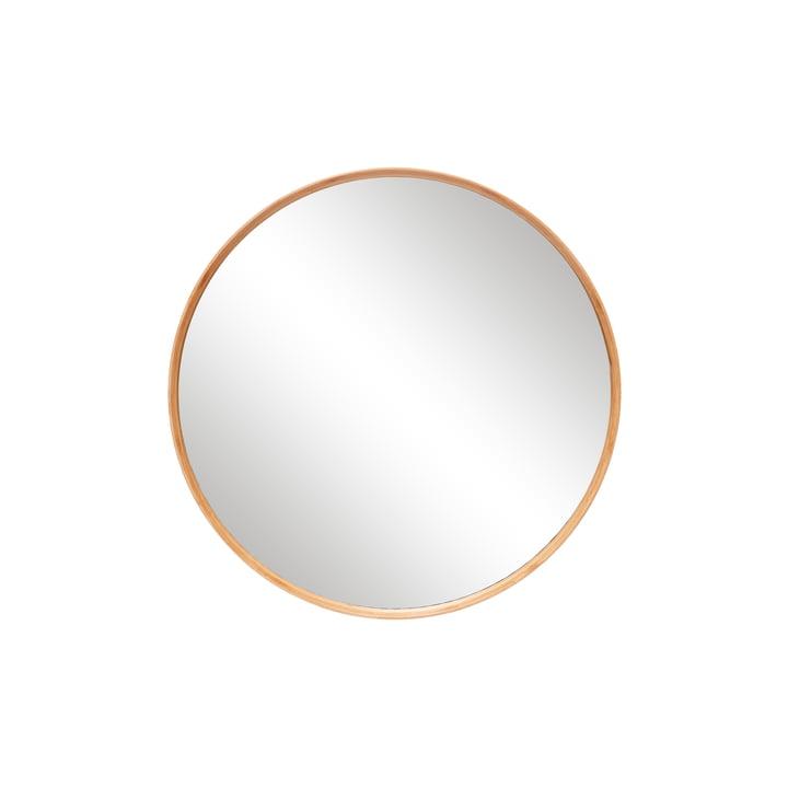 The round wall mirror from Hübsch Interior , Ø 80 cm