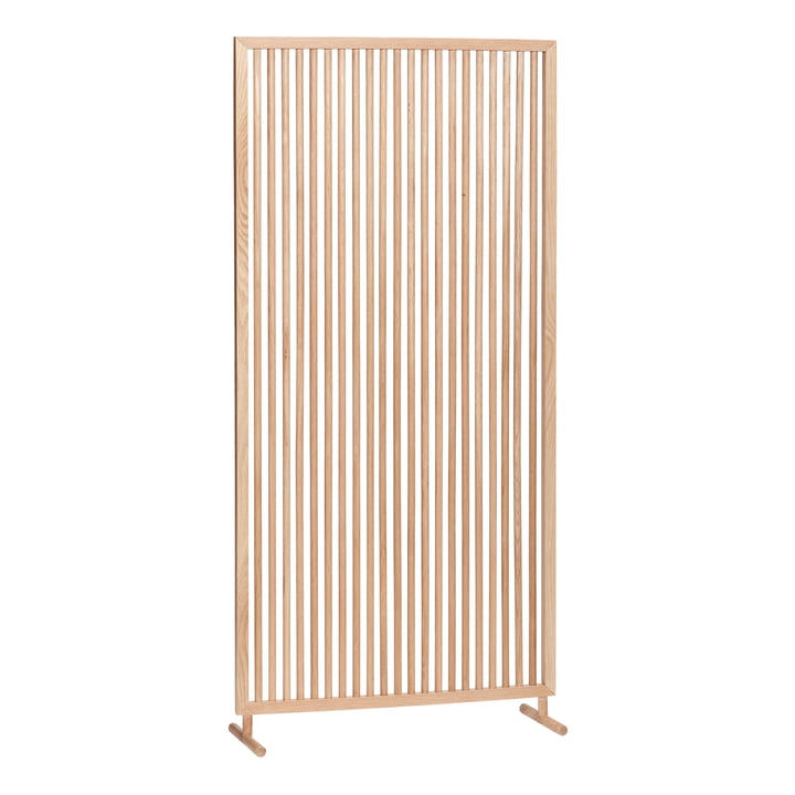 Room divider WxH 70 x 140 cm, oak, natural from Hübsch Interior