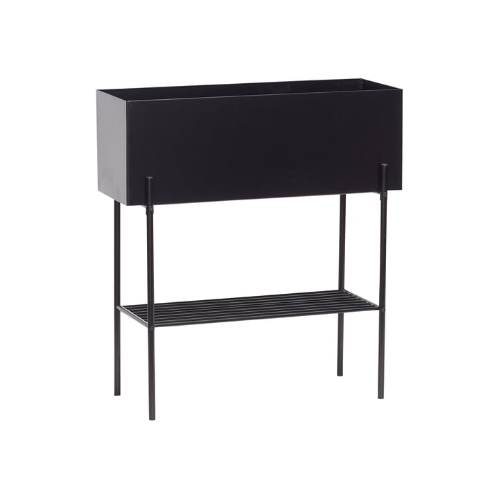 The planter box from Hübsch Interior in black
