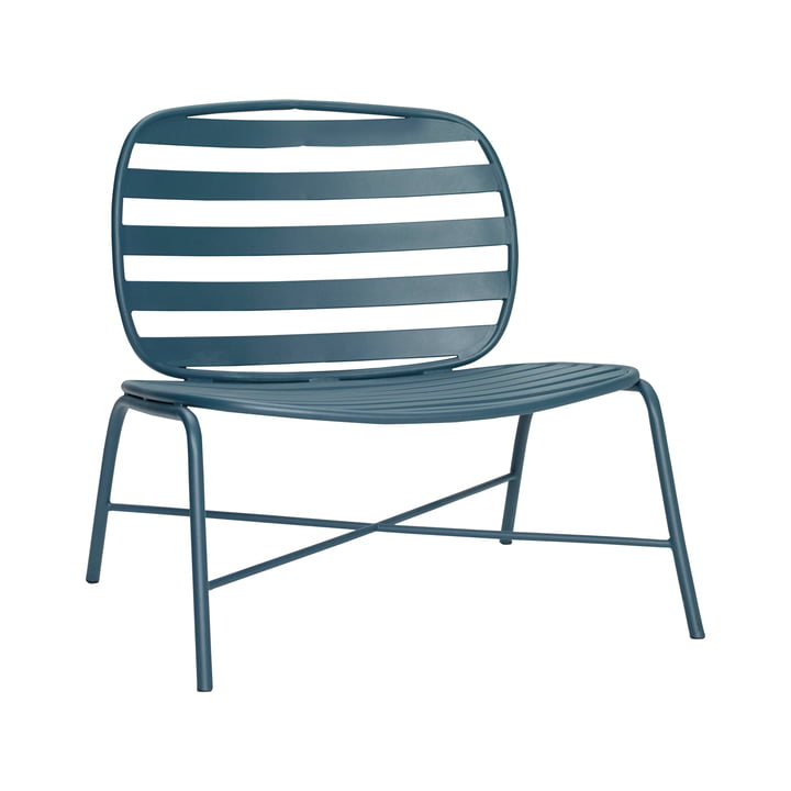 Outdoor Lounge chair, green from Hübsch Interior