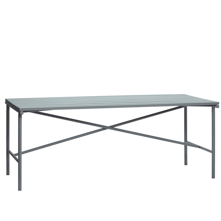 Outdoor Dining table, grey by Hübsch Interior
