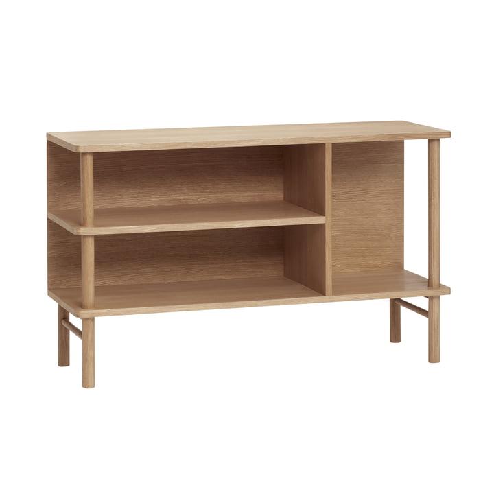 Open sideboard, oak, natural from Hübsch Interior